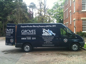 Groves Window Cleaners About Us